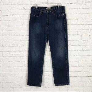 J. Crew Size 14 Antique HiRise Straight Leg Jeans